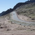 The demanding grade along Pikes Peak Toll Road.- 9 Stunning Scenic Drives in Colorado