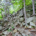 Steep, rocky section on the Wapack Trail in Miller State Park.- A Family-friendly Guide to Peterborough + Keene, New Hampshire