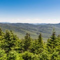 The summit of Mount Tecumseh offers amazing views of the surrounding White Mountains.- 3-Day Adventure Itinerary in White Mountain National Forest