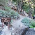 The Castle Rock Trailhead.- 3-day Itinerary for Big Bear Lake, California