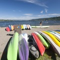 Lake Sammamish State Park's beach.- Beat the Heat: Seattle Summer Escapes