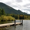 Public dock at Silver Lake.- Washington's Best Lakes