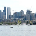 Gas Works Park: View of downtown Seattle.- Best Vistas for Fireworks: Seattle, WA