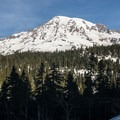 Mount Rainier (14,411 ft).- Best Winter Adventure Destinations