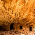 House on Fire Ruin in Mule Canyon.- Native American Petroglyphs, Pictographs, and Artifacts