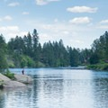 Boulder Beach on the Spokane River.- Washington's 50 Best Swimming Holes