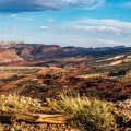 Waterpocket Fold from the Chimney Rock Trail, Capitol Reef National Park.- A Photographer's Itinerary for Utah's National Parks