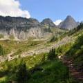 Climbing Lake Ann Trail toward Shuksan Arm.- Must-Do Adventures Near Bellingham, Washington