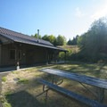 Meeting Hall at the Mountain Dale Cabin Village, L.L. Stub Stewart State Park.- L.L. Stub Stewart State Park