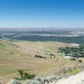 Looking southwest over the Warm Springs Mesa development from Table Rock.- 13 Epic Microadventures Near Boise
