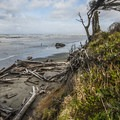 View of the Pacific Ocean from the day use area in Kalaloch Campground.- Best Year-round Campgrounds in Washington