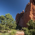 View of North Gateway Rock at Garden of the Gods.- Unforgettable National Natural Landmarks