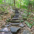 Stone steps on the Wapack Trail on Pack Monadnock Loop.- 6 Must-Do Autumn Adventures in New Hampshire