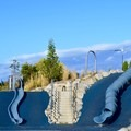 Serious slides at Jefferson Park.- City Parks You Definitely Need to Visit