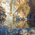 Another view of the Cedar Creek Falls and the swimming hole.- Southern California's 18 Best Swimming Holes