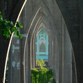 The gothic arches of the St. Johns Bridge at Cathedral Park.- City Parks You Definitely Need to Visit