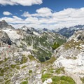 View north to the surrounding North Cascades from Trappers Peak (5,966 ft).- 30 Must-Do Adventures in Washington