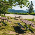 Opt for a picnic with a view at the top of Pack Monadnock in Peterborough's Miller State Park- A Family-friendly Guide to Peterborough + Keene, New Hampshire