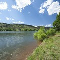 South Bay Campground, Horsetooth Reservoir County Park.- Horsetooth Reservoir County Park