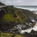 U.S. Highway 101 over Cooks Chasm.- 3 Reasons You Should Visit Thor's Well