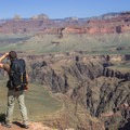 An incredible viewpoint on the tip of Horseshoe Mesa at the end of Grandview Trail.- Grand Canyon National Park