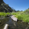 West Fourmile Creek before Paradise Cove Swimming Hole.- 5 Favorite Swimming Holes Near Denver