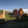 Garden of the Gods in Colorado has a long history of climbing.- How to Get Into Rock Climbing and Where to Start
