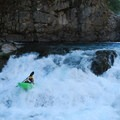 Kayaking Wind River in the Columbia River Gorge: The third drop is smoother than it looks.- Must-See Views in Our National Scenic Areas