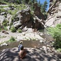Paradise Cove Swimming Hole, West Fourmile Creek (also known as Guffey Gorge).- 5 Favorite Swimming Holes Near Denver