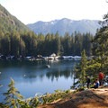 Lena Lake looking south.- 10 Amazing Day Hikes in Olympic National Park