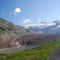 The Emmons Glacier terminus and the beginning of the White River.- A 3-Day Itinerary for Mount Rainier