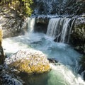 Spirit Falls, Little White Salmon River.- The West's 100 Best Waterfalls