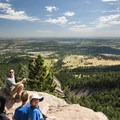 View of the Denver area Great Plains from Royal Arch.- Denver's Best Day Hikes