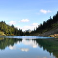 Winchester Mountain trail begins at Twin Lakes.- Must-Do Adventures Near Bellingham, Washington