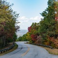 Foothills Parkway scenic drive, Great Smoky Mountains.- Must-See National Parks in the Autumn