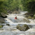 The Nantahala River Cascades in a nutshell. - 10 Summer Escapes to Cool Off in North Carolina