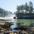 Tongue Point and Crescent Bay.- Olympic Peninsula Waterfall Road Trip