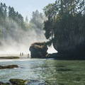 Tongue Point and Crescent Bay.- Family Friendly Learning On The Olympic Peninsula