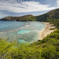 View of Hanauma Bay with plenty of sunshine and snorkeling!- 5 Best Family-Friendly Destinations on O'ahu