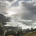 Cape Perpetua: The view south toward Heceta Head.- An Oregon Winter Road Trip
