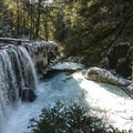 Spirit Falls, Little White Salmon River.- Water: The Lifeblood of the Columbia River Gorge