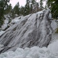 Diamond Creek Falls. - 26 Amazing Snowshoe-to-Waterfall Adventures