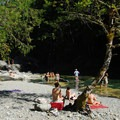 One of the many ideal relaxation spots in the Opal Creek Wilderness.- Sex, Drugs, and Swimming Holes