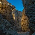 Narrows are only a short distance into Lick Wash.- Grand Staircase-Escalante National Monument