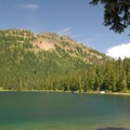 Dewey Lake (eastern portion) looking east.- 30 Alpine Lakes You Should Visit This Summer