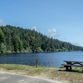 Carter Lake in the Oregon Dunes National Recreation Area.- Oregon's 60 Best Lakes for Summer