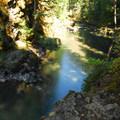 Ohanapecosh River and Blue Hole Swimming Area.- Washington's 50 Best Swimming Holes