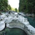 Vandalism at Eagle Falls Swimming Hole.- Sex, Drugs, and Swimming Holes
