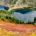 Twin Lakes from Winchester Mountain Trail.- A Guide to Adventuring on Mount Baker