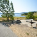 Typical campsite at Jordanelle State Park Campground.- Guide to Camping Near Salt Lake City, Utah